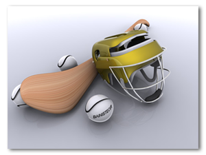 Helmet, Hurley and Sliotars